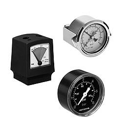 Pressure gauges from AVENTICS