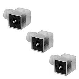 Electrical connectors for pneumatic connection technology