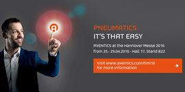 AVENTICS at the Hannover  Messe 2016