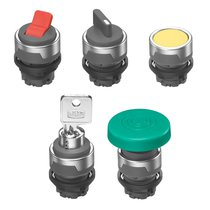 Actuating controls for AP/ST series control panel valves