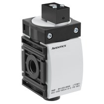 3/2-directional valve, pneumatically operated, Series AS1-SOV