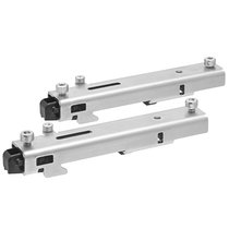 Mounting kit for DIN rail