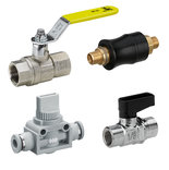 Ball valves and shut-off valves
