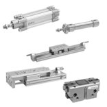 Pneumatic cylinders and drives